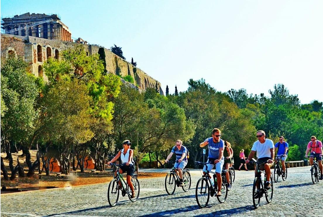 Athens morning bike tour