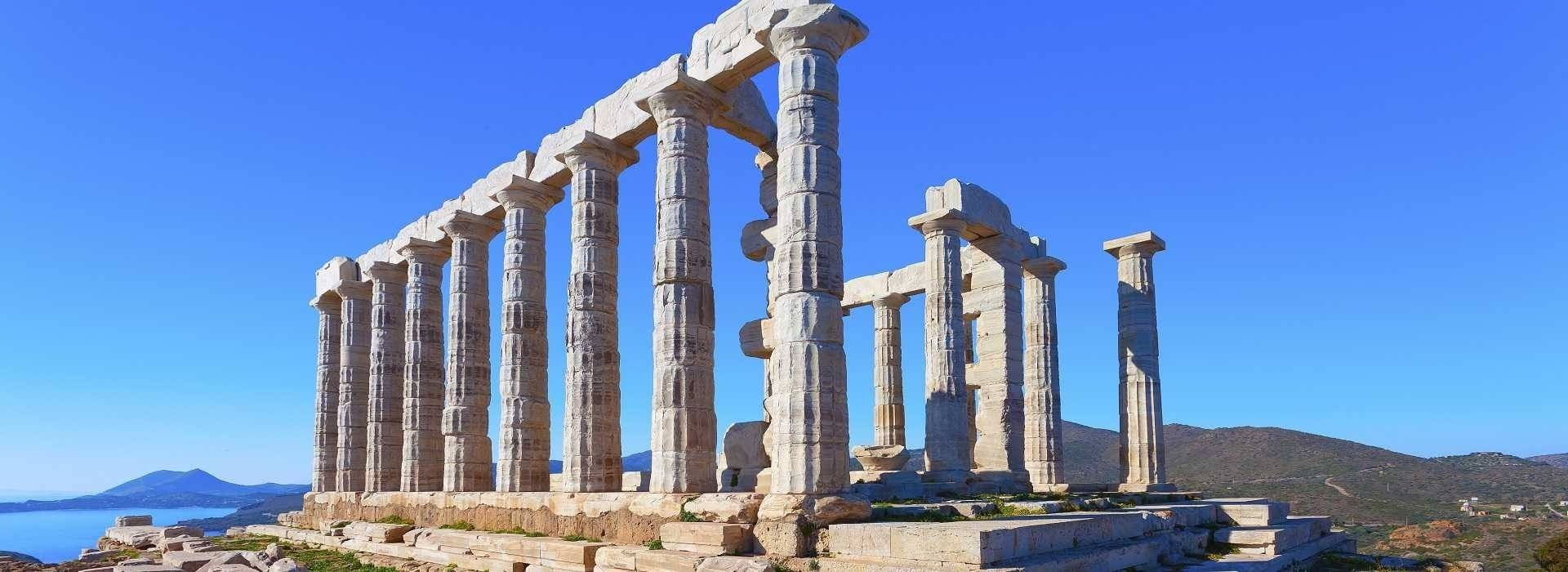 Cape Sounio and Temple of Poseidon Half Day Afternoon Experience