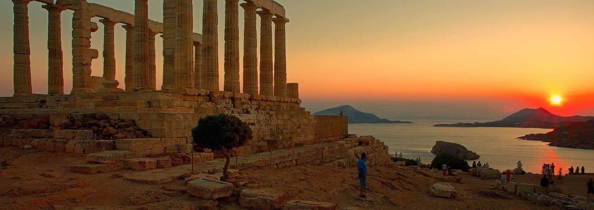 The Original Sunset Tour: Cape Sounion & Temple of Poseidon