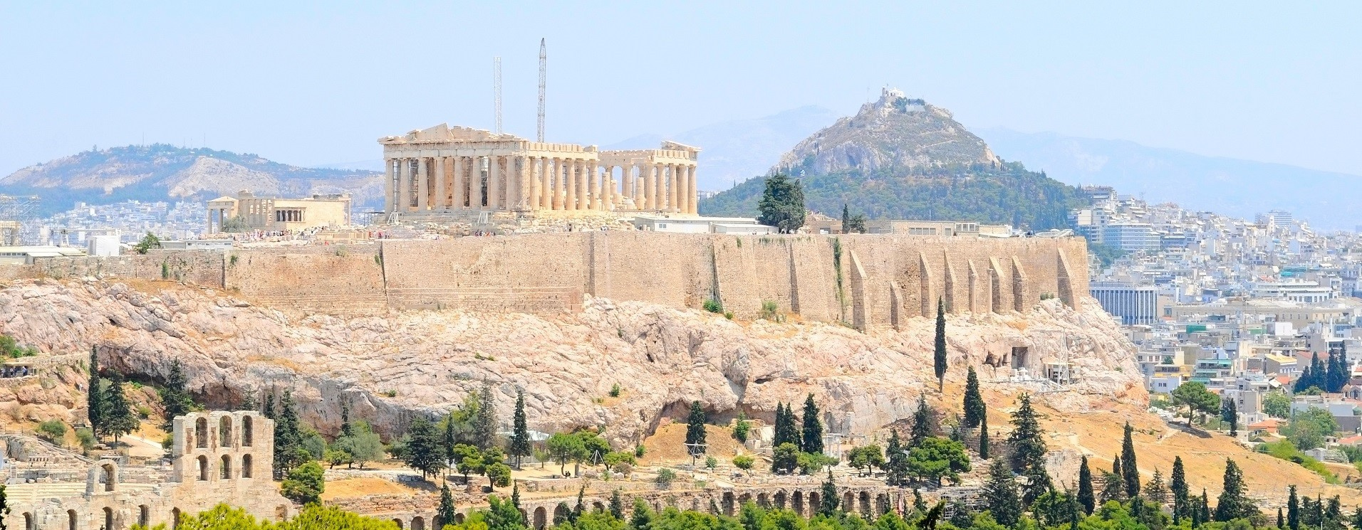 Early Access to the Acropolis of Athens Semi Private Walking Tour