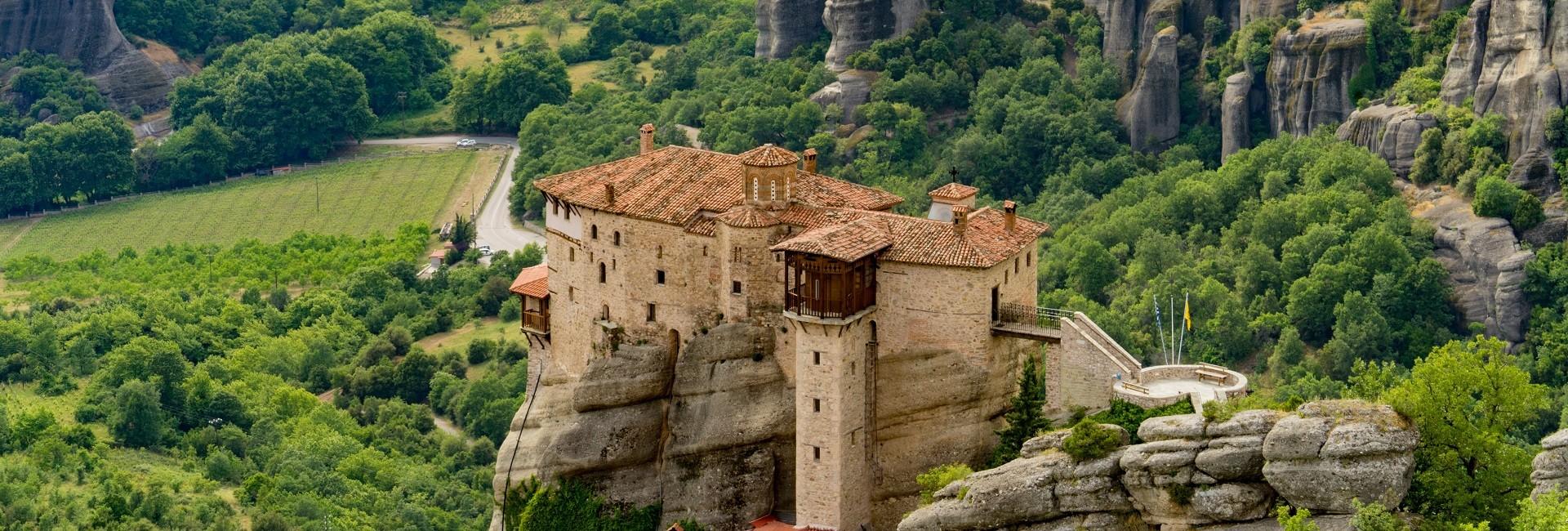 Day Rail Tour to the Majestic Meteora Monasteries
