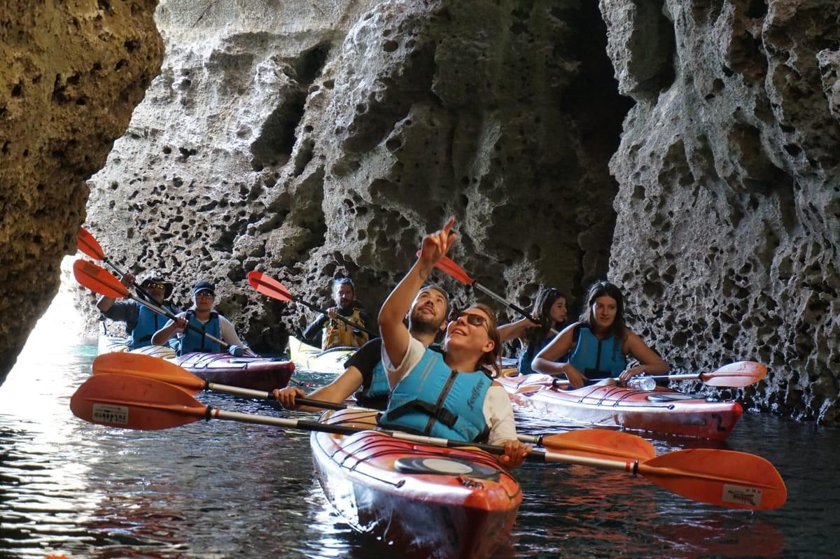 Sea Kayaking Tour – The Pirates Route